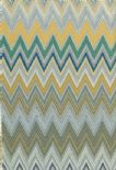 Missoni Home 01 Wallpaper Zig Zag Multicoloure 20064 By JV Wallcoverings For Brian Yates